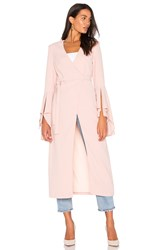C Meo Collective Still Standing Trench Pink