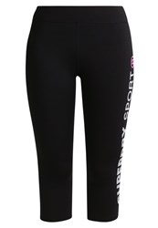 Superdry 3 4 Sports Trousers Black