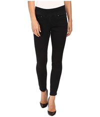 Jag Jeans Petite Nora Pull On Skinny In Comfort Denim In Black Void Black Void Women's
