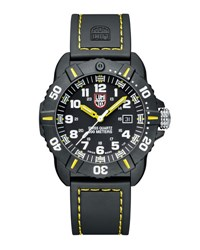 Luminox 44Mm Sea Series Coronado 3025 Watch Yellow