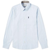 Barbour Oxford Shirt Blue