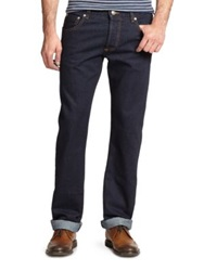 Isaia Classic Denim Jeans Dark Blue