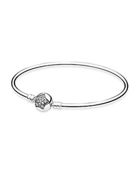 Pandora Design Pandora Bangle Sterling Silver And Cubic Zirconia You're A Star Limited Edition Moments Collection