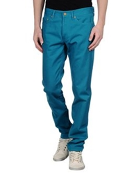 Marc By Marc Jacobs Denim Pants Turquoise
