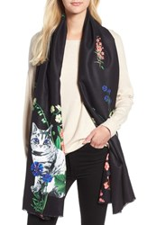Ted Baker London Florence Scarf Black