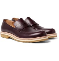 Armando Cabral Harrison Leather Penny Loafers Burgundy