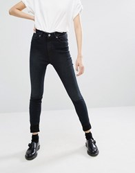 Monki Oki Highwaisted Jean Black