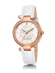 Folli Follie Santorini Flower Mop White Watch
