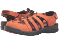 Drew Shoe Element Burnt Orange Women's Sandals