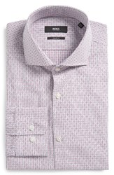 Hugo Men's Boss Mark Sharp Fit Check Dress Shirt