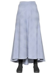 I'm Isola Marras Long Cotton Velvet Skirt