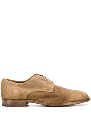 Moma Classic Lace Up Shoes Brown