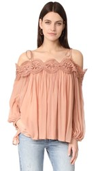 Ministry Of Style Shells Top Dusty Coral