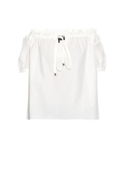 Ter Et Bantine Off The Shoulder Cotton Poplin Blouse