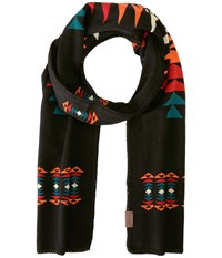 Pendleton Knit Muffler Tucson Black Scarves Multi