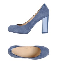 Hogan Pumps Pastel Blue