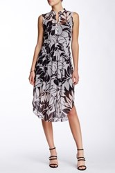 Weston Wear Hanalei Split Neck Dress Multi