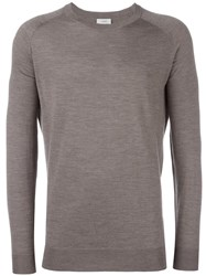 Closed Crew Neck Jumper Grey