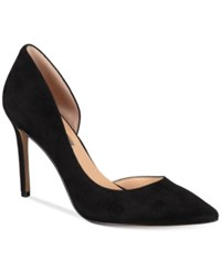 Inc International Concepts Women's Kenjay D'orsay Pumps Created For Macy's Women's Shoes Black Suede