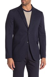 Theory Tobius Eclipse Solid Two Button Notch Lapel Suit Separates Jacket