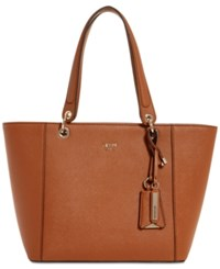 Guess Kamryn Extra Large Tote Cognac