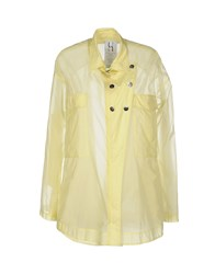 Uniqueness Coats And Jackets Full Length Jackets Women Yellow