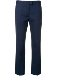 Paul Smith Ps Cropped Trousers Blue