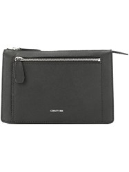 Cerruti 1881 Zipped Clutch Bag Black