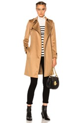 Burberry London Wrap Trench Coat In Brown Neutrals Brown Neutrals