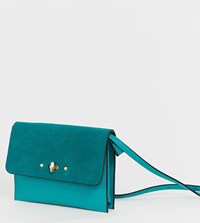 Accessorize Bright Teal Cross Body Bag Blue