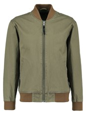 Brixton Sauder Bomber Jacket Light Olive