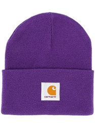 Carhartt Wip Logo Patch Knitted Hat 60