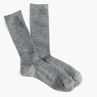 J.Crew Ribbed Trouser Socks