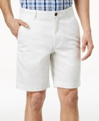 Brooks Brothers Red Fleece Men's Stretch Garment Dyed 9 Twill Shorts White