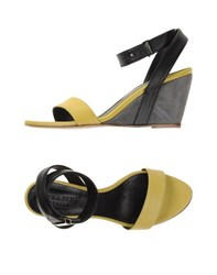 Serafini Etoile Footwear Sandals Women Yellow