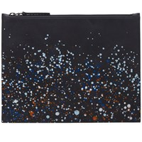 Maison Martin Margiela 11 Medium Paint Splash Document Holder Black