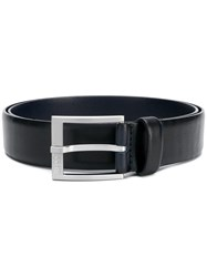 Hugo Boss Classic Buckle Belt Blue
