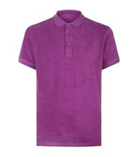 Vilebrequin Pacific Terry Cloth Polo Shirt Male Purple
