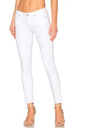 Paige Verdugo Ankle Zip Ultra White