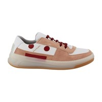 Acne Studios Steffey Trainers Pink White Ice