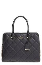 Kate Spade New York 'Emerson Place Olivera' Quilted Leather Satchel Black