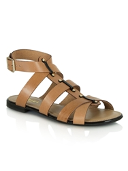 Daniel Times Square Chunky Gladiator Sandals Brown