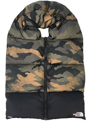 The North Face Nuptse Camouflage Print Scarf 60