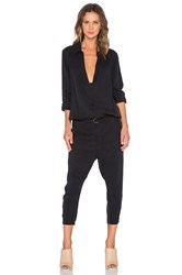 One Teaspoon Le Poison Jumpsuit Black