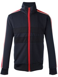 Paul Smith Ps By Zipped Sports Jacket Blue