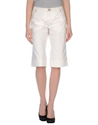 Toy G. Denim Bermudas White
