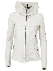 Isaac Sellam Experience 'Clandestin Parchemin Platre' Jacket White