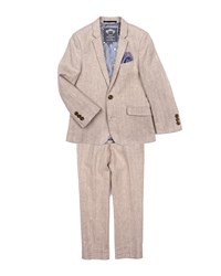 Appaman Boys' Khaki Mod Two Piece Suit Size 2 14