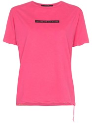 Ksubi Daydreams Print T Shirt Pink
