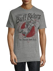 Affliction Pbr Dillinger Tee Heather Grey